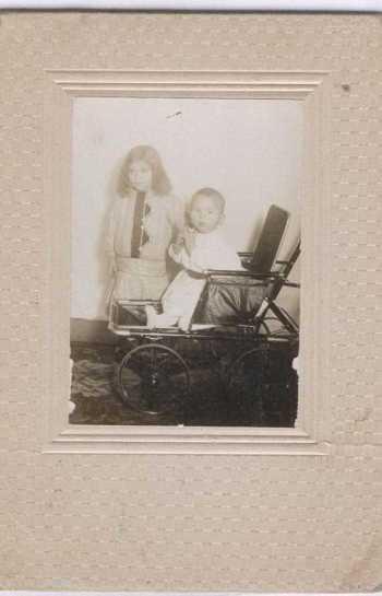 Eunice Veronica (Grandma Billie) and her brother Woodrow